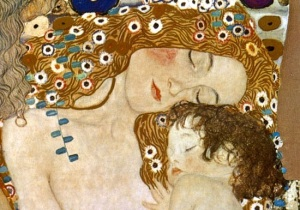 Gustavo Klimt, Mother and Child (1905)