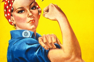 Rosie the Riveter - J. Howard Miller, Public Domain
