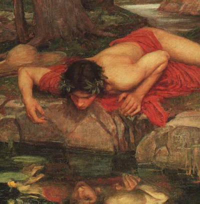 Echo and Narcissus by John William Waterhouse. 1903.